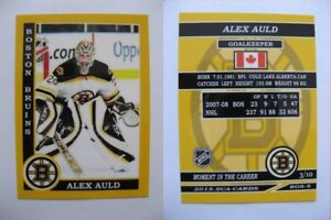 2015-SCA-Alex-Auld-Boston-Bruins-goalie-never-issued-produced-d-10-super-rare
