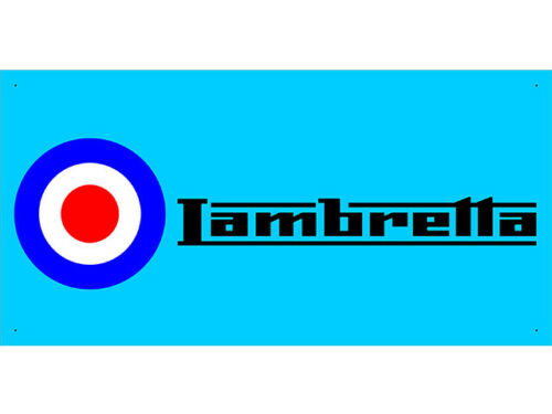 vn0845 Lambretta Sales Service Parts for Advertising Display Banner Sign