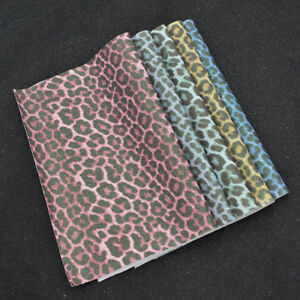 4cc8d7c121 Image is loading Faux-Leather-Animal-Print-Upholstery-Fabric -Glitter-Leopard-