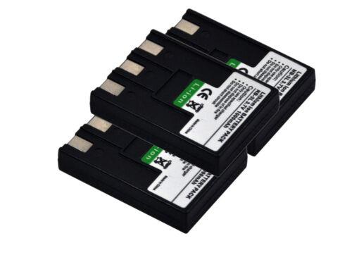 New 3x NB-3L NB3L Battery Charger For IXUS i5 IXUS 700 IXUS 750 SD110 SD550