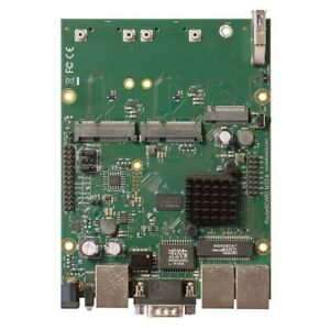 Mikrotik-Puissant-OEM-Routerboard-avec-3-X-Gigabit-Lan-amp-2-Minipcie-RBM33G