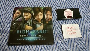 RARE-biohazard-revelations-mouse-pad-Capcom-Japan-2012-Resident-Evil-Playstation