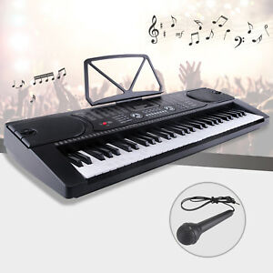 61-Key-Music-Electronic-Keyboard-Electric-Digital-Piano-Organ-with-Microphone