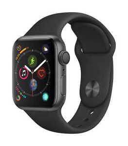 Apple-Watch-Gen-4-Series-4-40mm-Space-Gray-Aluminum-Black-Sport-Band-MU662LL-A