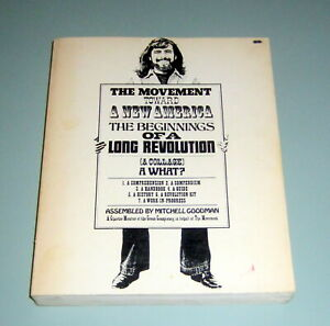 MOVEMENT TOWARD NEW AMERICA Black Panthers REVOLUTION WAR PSYCHEDELIC HIPPIES