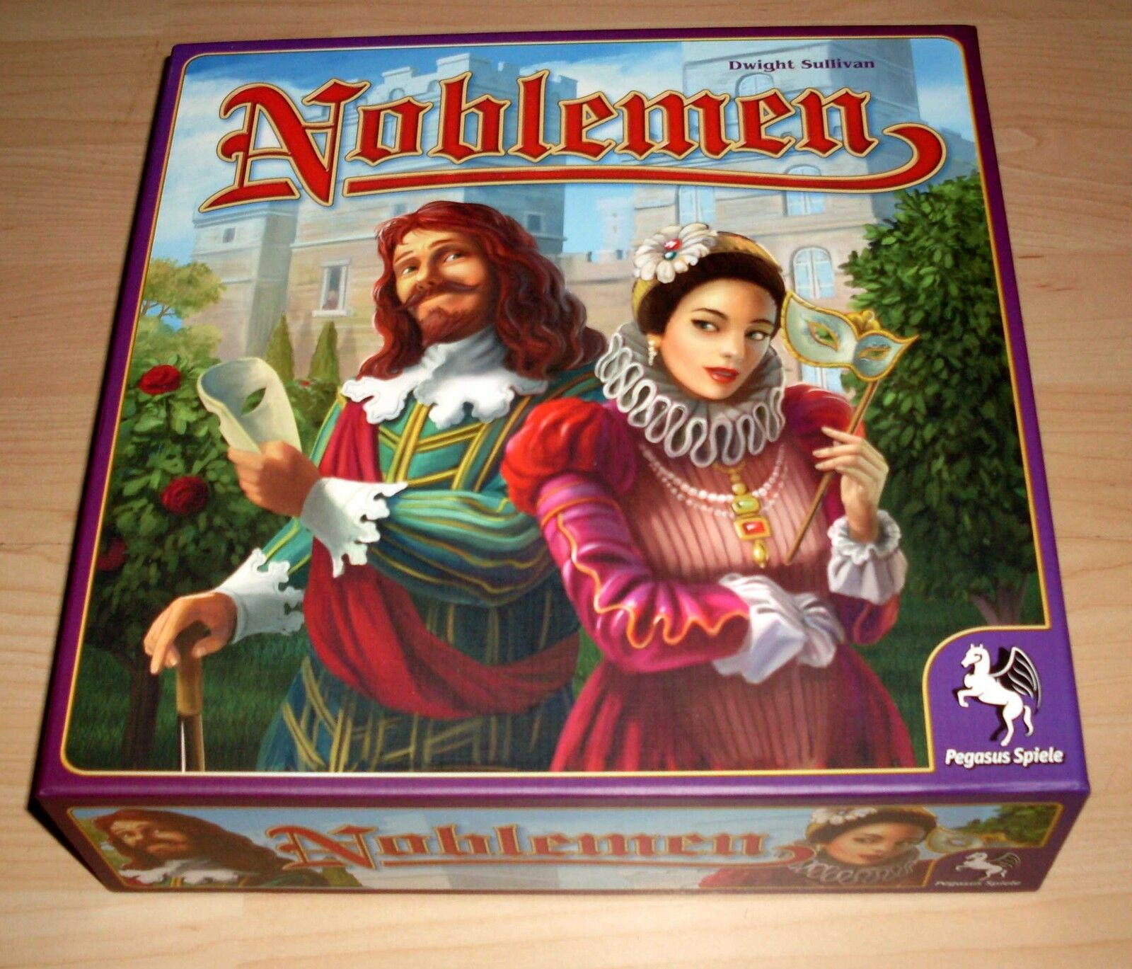 Brettspiel - Noblemen - 4250231738005 - Pegasus Spiele Spiele Spiele - Gesellschaftsspiel 7839aa