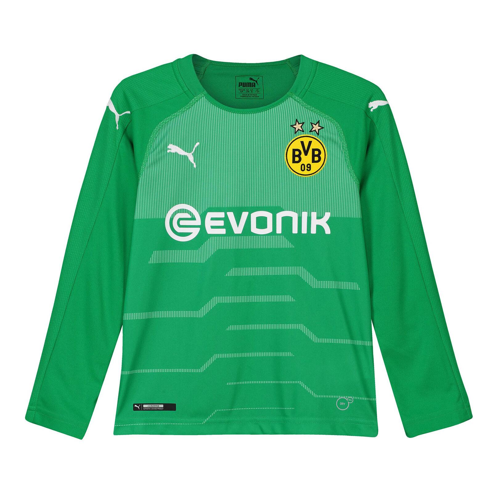 BVB Borussia 2018-19 Dortmund Offiziell Auswärts Torwart Shirt Hemd 2018-19 Borussia Kinder Puma 25ddd8