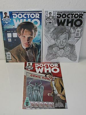 DOCTOR WHO #1-11th Doctor Rare Photo Variant Alakazam TITAN Matt Smith
