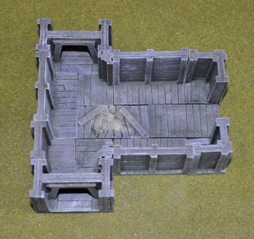 New in Box Ainsty Resin Unpainted 28mm Mine Entrance Set