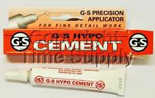 GS HYPO CEMENT GLUE HOBBY, CRAFT AND WATCH CRYSTAL GLUE **USA**