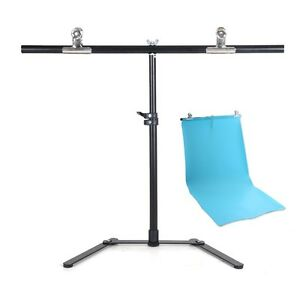 68*68cm VC Backdrop Photography Background Support Stand System Metal w/2 clamp