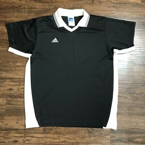 Details about Vintage 90s Adidas Soccer Jersey Shirt Men's XL Color Block Collared