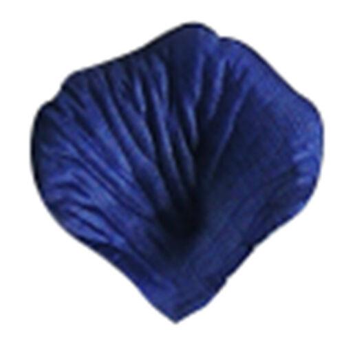 Royal blue I5Q5 2000 Silk cloth Rose Petals Wedding Decorations Bulk Supplies