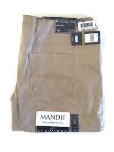 Bandolino Women's Mandie Fashion Colored Jean / Twill Pants NWT NEW