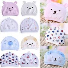 Boys Girls Soft Crochet Newborn Baby Soft Hat Infant Cotton Beanie Warm Cap