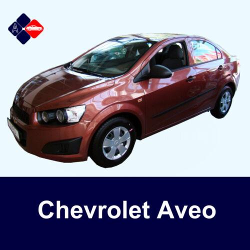 Chevrolet Aveo 5D Rubbing StripsDoor ProtectorsSide Protection Mouldings