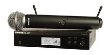 Shure BLX24R/SM58 Handheld Vocal Wireless Mic. System