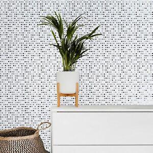 White-black-Gray-silver-metallic-Wallpaper-Polka-dot-textured-wallcoverings-roll