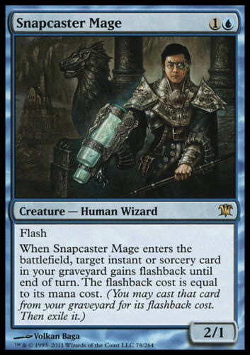 MTG SNAPCASTER MAGE EXC ISD MAGIC MAGO LANCIORAPIDO