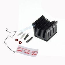 DIY Black Aluminium Heatsink Fan Cooler For Northbridge IC Chip Chipset Cooling