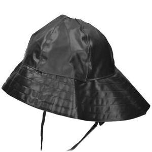 Regenhut Südwester schwarz Bekleidung Regenbekleidung