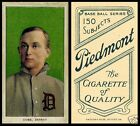 LOT of 25 REPRINT 1909 T206 TY COBB Green Portrait PIEDMONT back