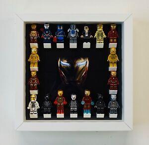 Minifigure-Display-Case-Frame-Lego-Marvel-Ironman-mini-figures-Picture-range