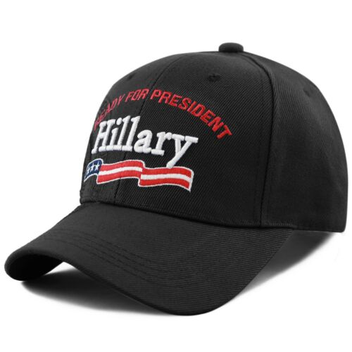 "Black The Hat Depot Exclusive 3D Hillary /""Ready For President/"" Seal Cap"