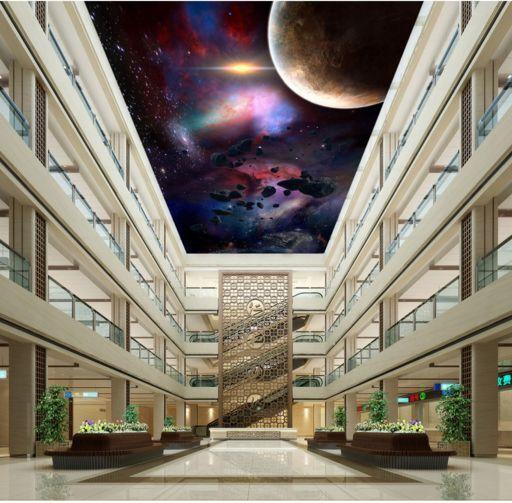 3D Space Night 31 Ceiling WallPaper Murals Wall Print Decal Deco AJ WALLPAPER GB
