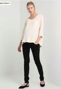 Mamalicious-Slim-Black-Jeans-Size-30-32-034-Brand-New
