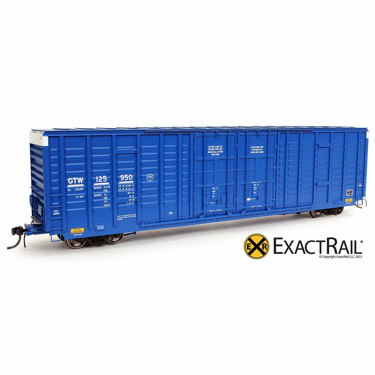 EXACTRAIL HO Grand Trunk Western P-S 7315 Waffle Box Car GTW EP-80617-3
