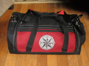 Image Is Loading Marlboro Luggage Red Black Sport Duffle Bag Gear