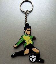 Manchester Utd's Eric Cantona Keyring Rosso Bianco Nero & A Guy Called Minty.