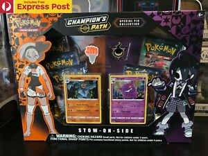 POKEMON-TCG-CHAMPIONS-PATH-STOW-ON-SIDE-SPECIAL-PIN-COLLECTION-BOX-NEW-ON-HAND