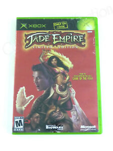 Microsoft-XBOX-JADE-EMPIRE-LIMITED-EDITION-2005-BiOWARE-RPG-Video-Game-NO-MANUAL