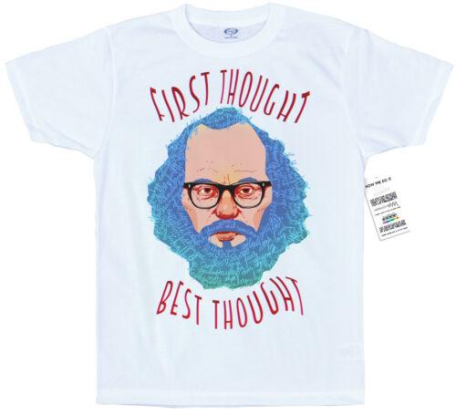 Allen ginsberg t shirt artwork #First pensée meilleure pensée