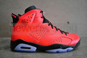Image is loading Nike-Air-Jordan-6-Retro-Infrared-23-Black- 22eae7edd