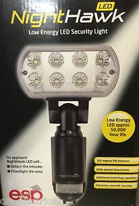 Nighthawk led low energy led security light with pir in stock ebay image is loading nighthawk led low energy led security light with aloadofball Choice Image