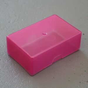Pink Business Card Sequin  Bead Craft amp Diy Storage Box With Lid - Crowle, Scunthorpe, United Kingdom - Pink Business Card Sequin  Bead Craft amp Diy Storage Box With Lid - Crowle, Scunthorpe, United Kingdom