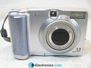 Canon PowerShot A10 Camera WIA Last
