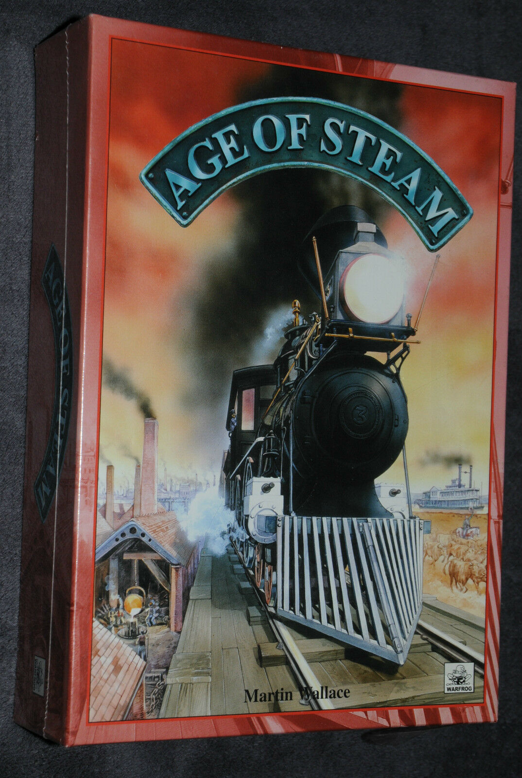 Age of Steam von Martin Wallace Warfrog in Folie