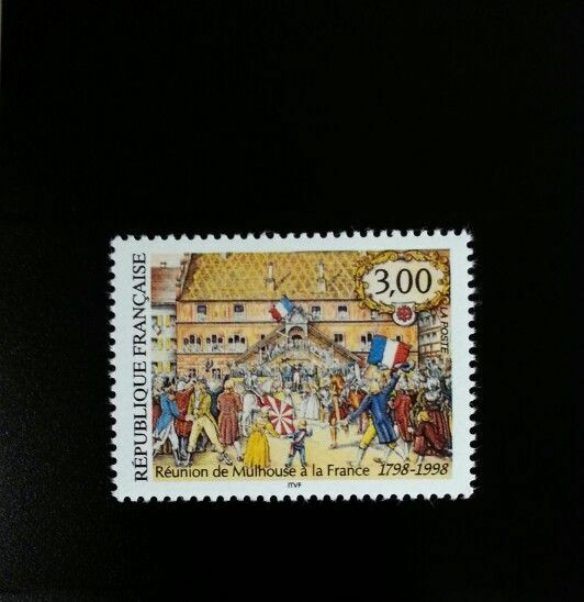 1998 France Union of Mulhouse with France Bicentennial