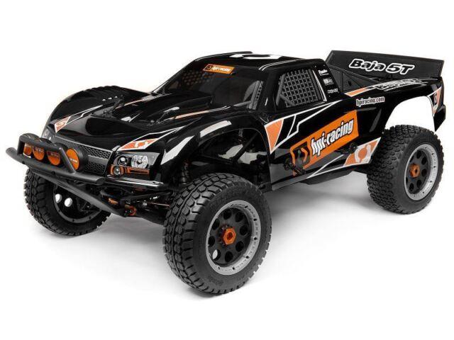 Hpi 110677 Black Baja 5t 1 Truck Painted Body Hpi110677 For Sale