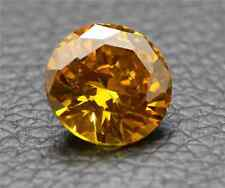 10.73CT UNHEATED YELLOW SAPPHIRE DIAMOND 12MM ROUND CUT AAAA+  LOOSE GEMSTONE