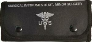Elite First Aid Surgical Kit - Black