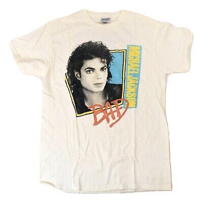 New Men's Junk Food Distressed Micheal Jackson Bad King Of Pop T Shirt Size M//L