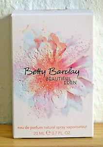 Detalles de 16% IVA!!! Betty Barclay Beautiful Eden Eau de Parfum 20 ml (gp = 121,60 €100ml) ver título original