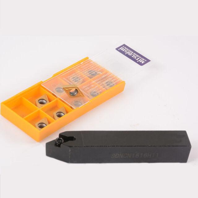 20PCS DCMT11T304.. SDNCN1616H11 16 x100mm external Turning Tool Holder