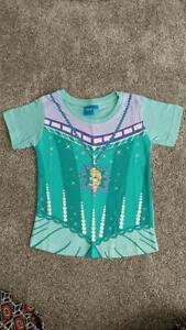 Girls-2-3-Years-24-36-Months-Disney-Elsa-Frozen-T-Shirt-Top-NEW