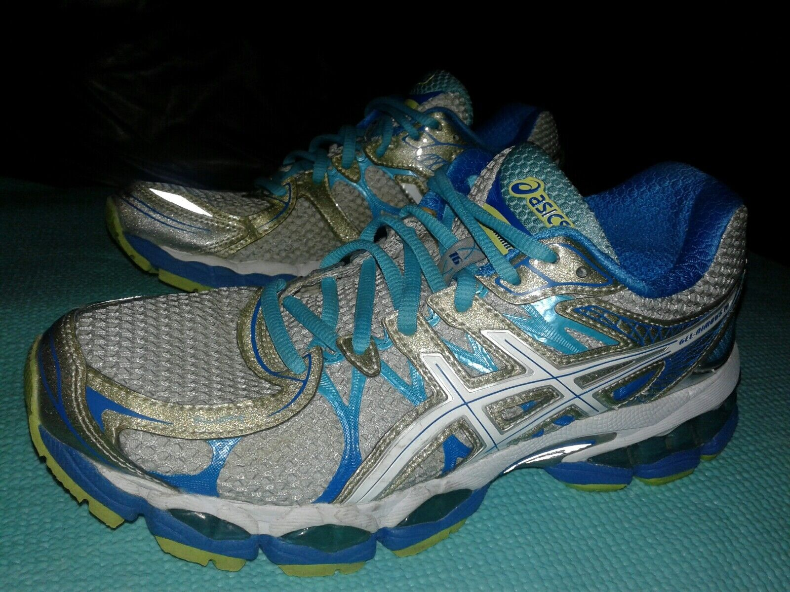 Womens ASICS Nimbus 16 Size 8 B Running Walking Training